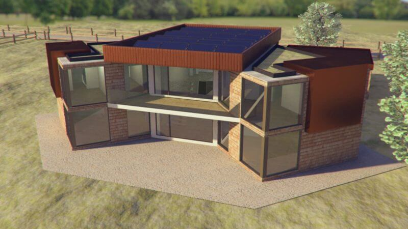 The Eco House Project | Exterior