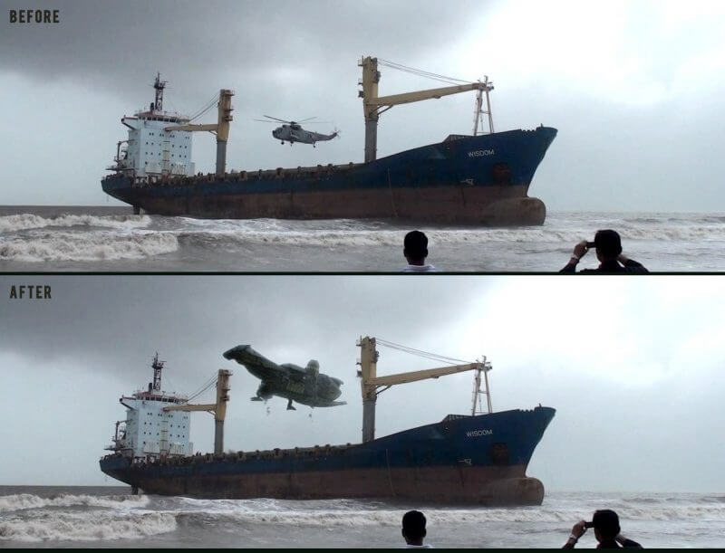Serenity | Before & After VFX