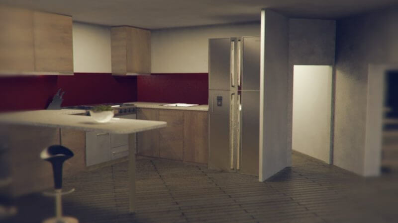 The Eco House Project | Kitchen Interior
