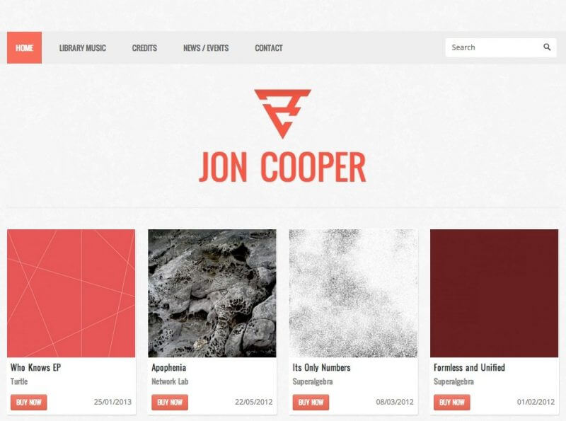 Jon Cooper | Web Development