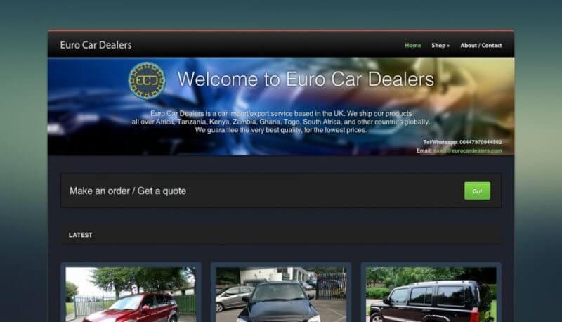 Euro Car Dealers | Digital Campaign
