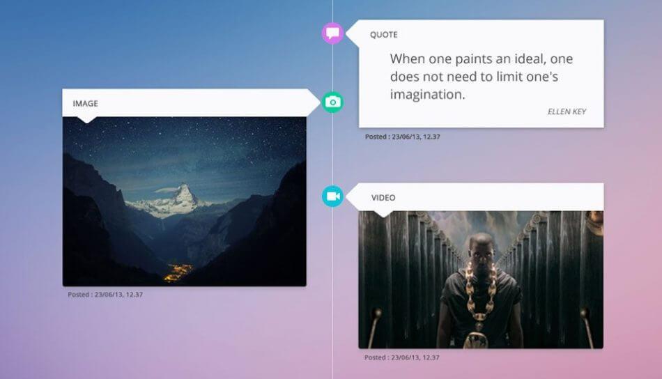 Timeline | UI Design