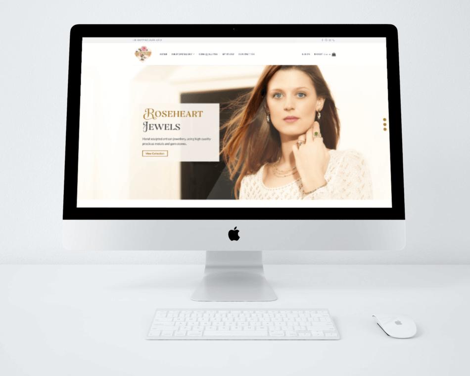 Roseheart Jewels | Web Build