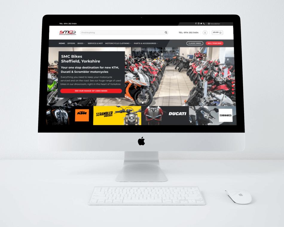 SMC Bikes | Web Build